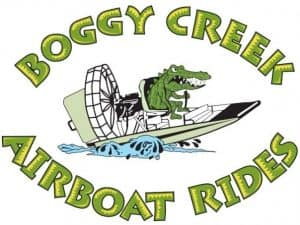 Boggy Creek Airboat Rides Coupons